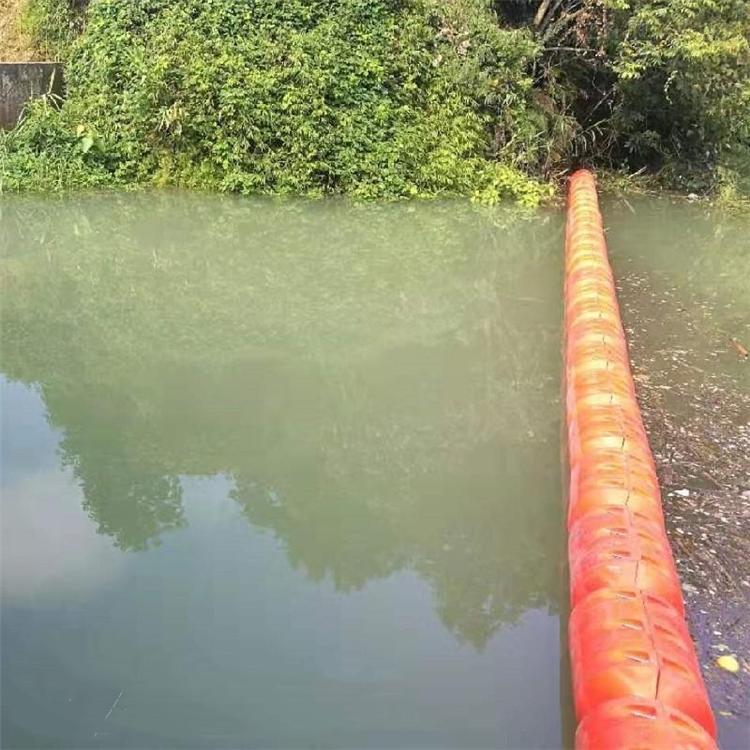 开闸垃圾拦截浮筒 软性拦污排浮体
