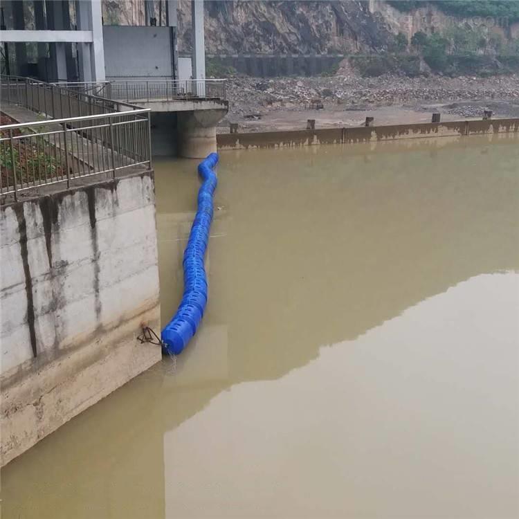 河流漂浮物拦截塑料浮筒