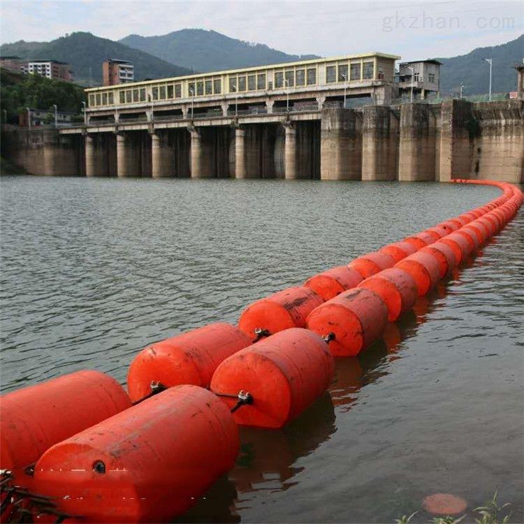 水库警示拦污浮筒 挡油浮漂厂家