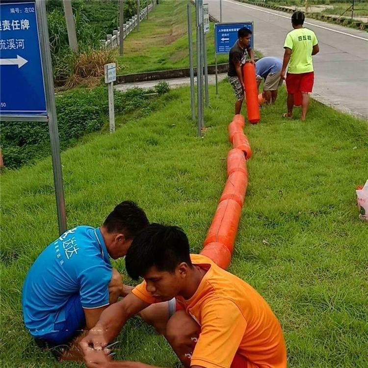 水电站挂网拦污浮筒