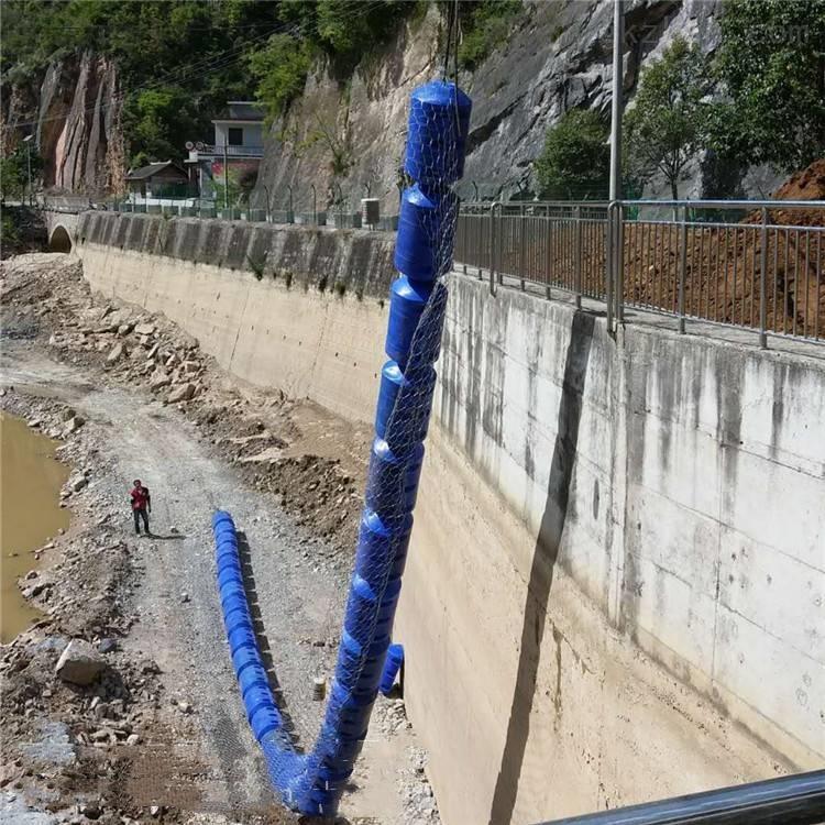 挂网拦污浮筒 自动式漂浮拦污桶