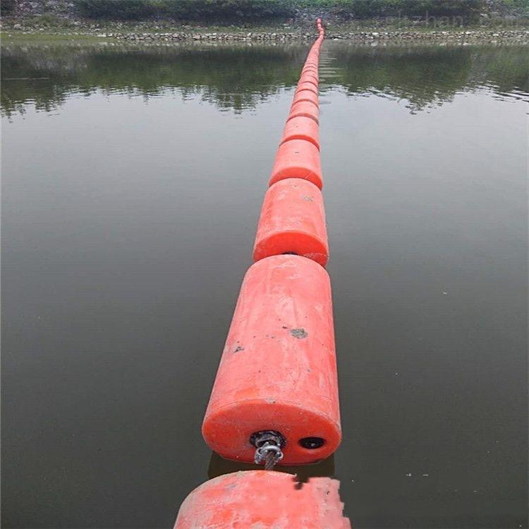 柏泰拦垃圾浮子供应 圆柱体水上拦污排