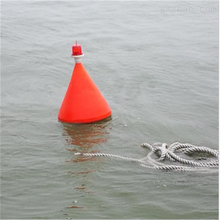 跨海大桥警示浮标是怎么样固定的