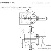 HBM U9C系列 工业控制 传感器