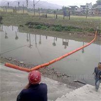 河道拦草浮筒 可挂网水下浮体