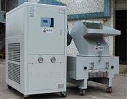 三创牌热熔胶熔化粘连的物料低温粉碎機
