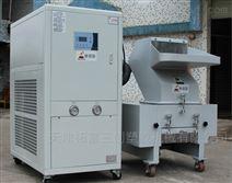 三创牌热熔胶熔化粘连的物料低温粉碎机