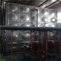 屋顶不锈钢消防水箱工作原理