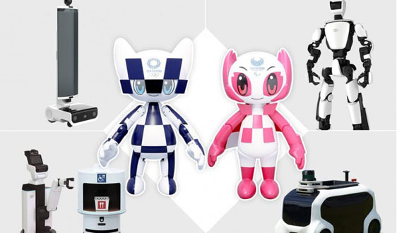 豐田公布2020年東京奧運會機器人全線陣容