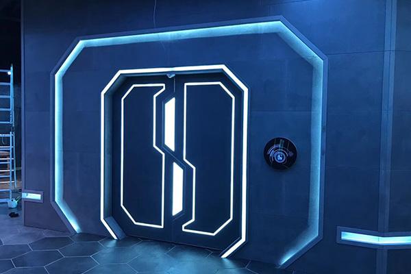 密室网红门