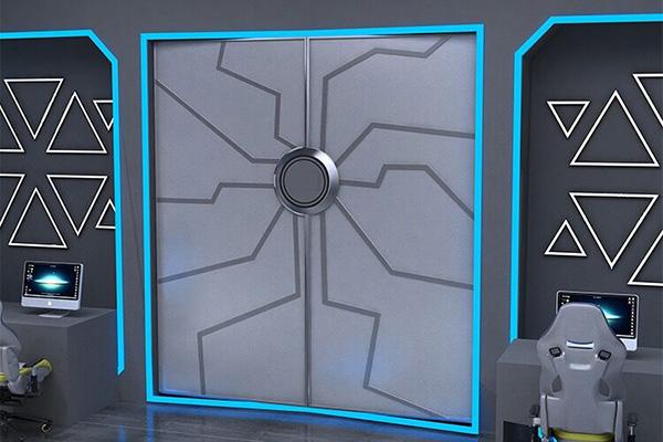 科幻电动门