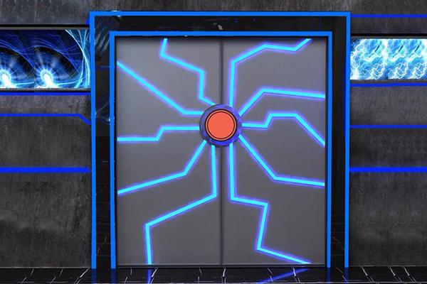 科幻掌紋門